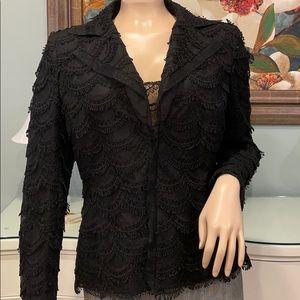AKRIS Bergdorf Goodman Jacket & Camisole.